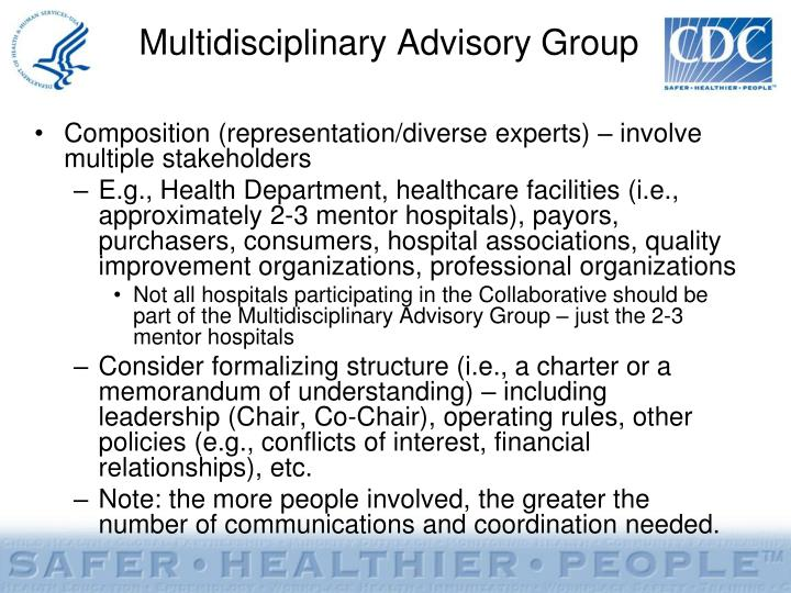 Multidisciplinary Advisory Group