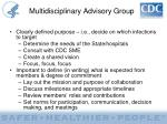multidisciplinary advisory group5