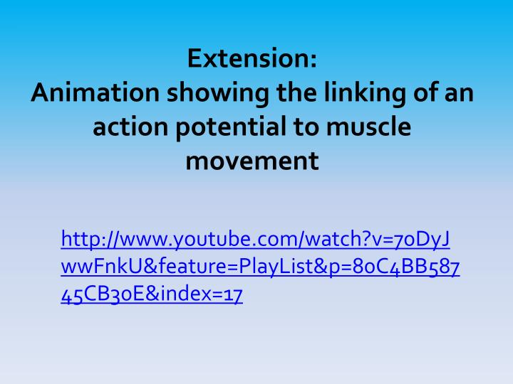Extension: