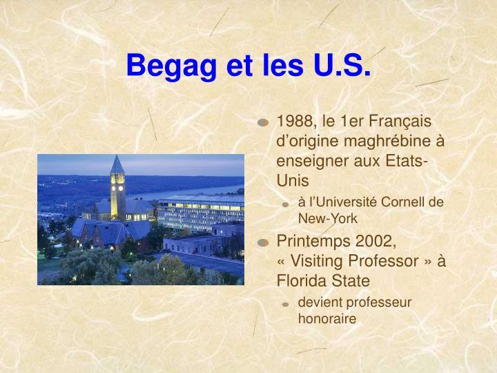 Begag et les U.S.