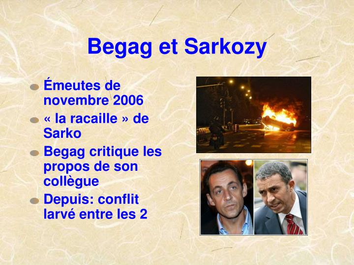 Begag et Sarkozy