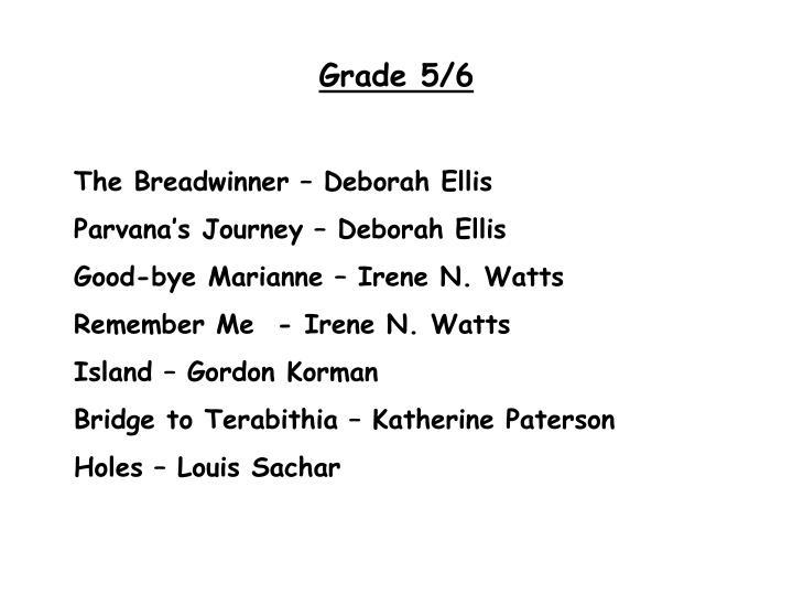 Grade 5/6