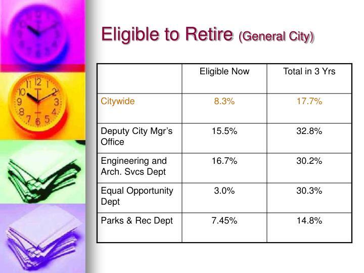 Eligible to Retire