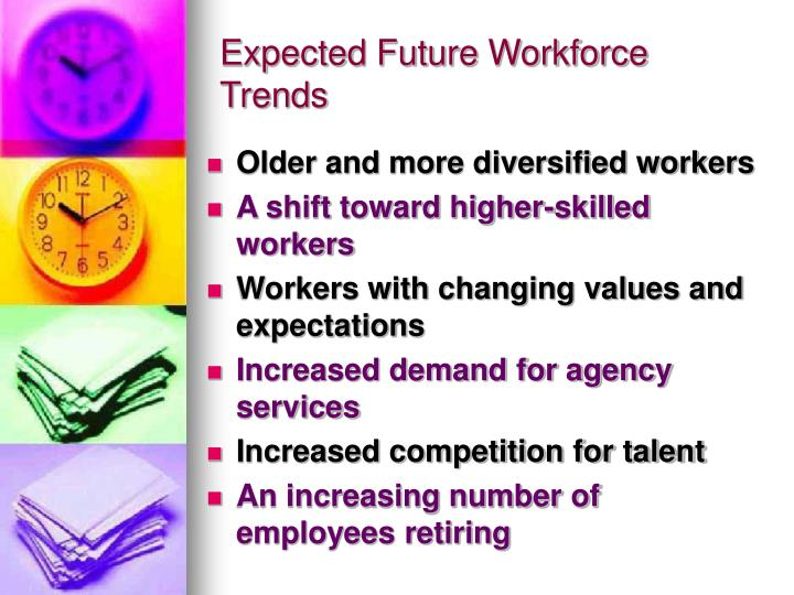 Expected Future Workforce Trends
