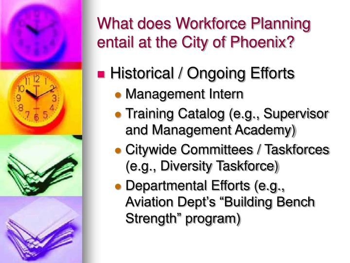 What does Workforce Planning entail at the City of Phoenix?