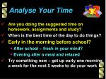 analyse your time1