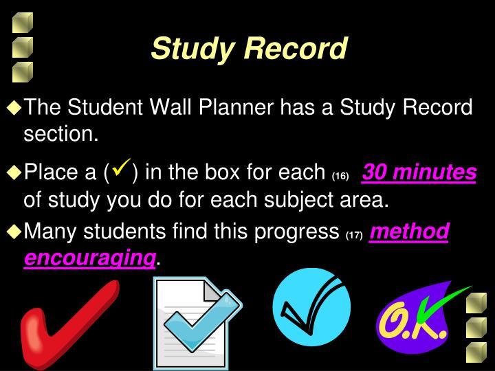 Study Record