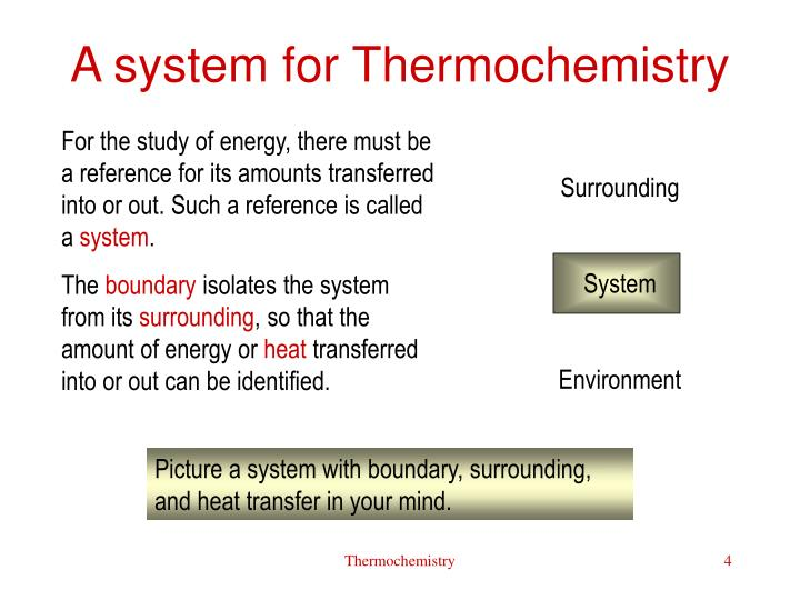 A system for Thermochemistry