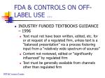fda controls on off label use3