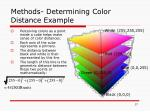 methods determining color distance example