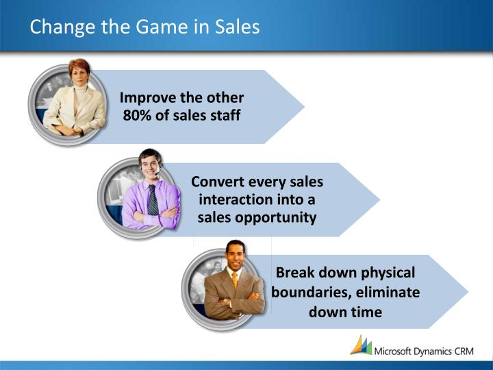 Change the Game in Sales