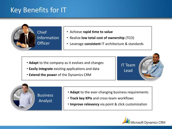 Key Benefits for IT