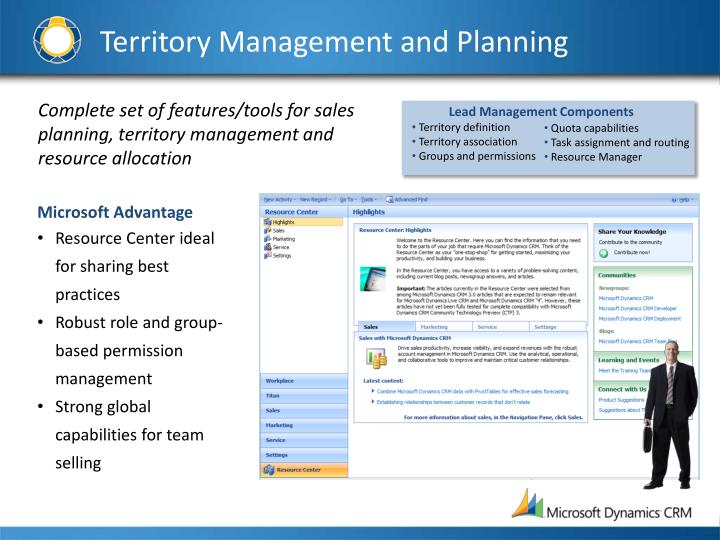 Territory Management and Planning