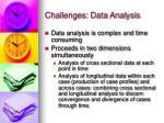challenges data analysis