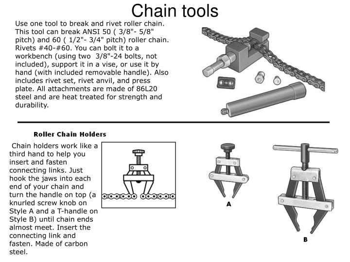 Chain tools