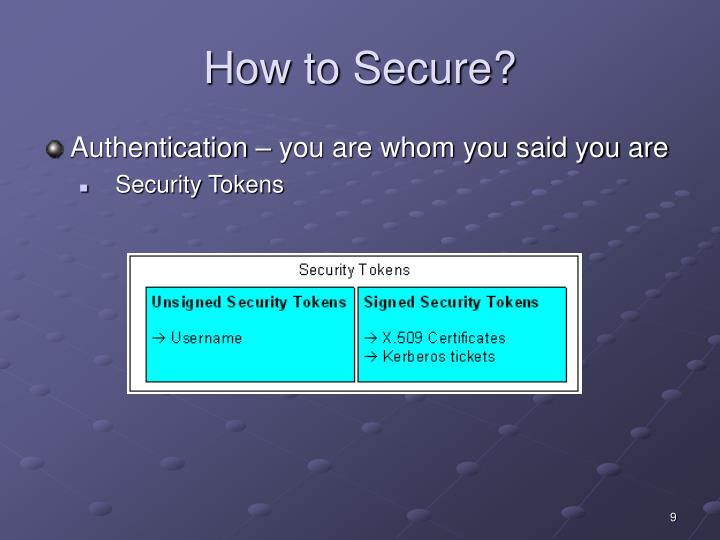 How to Secure?