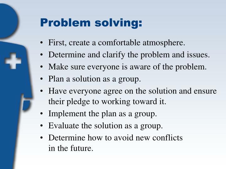 Problem solving: