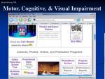 motor cognitive visual impairment1