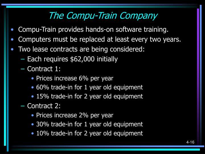 The Compu-Train Company