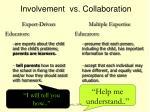 involvement vs collaboration1