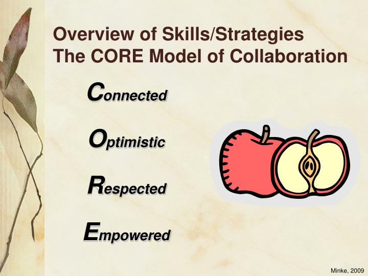 Overview of Skills/Strategies