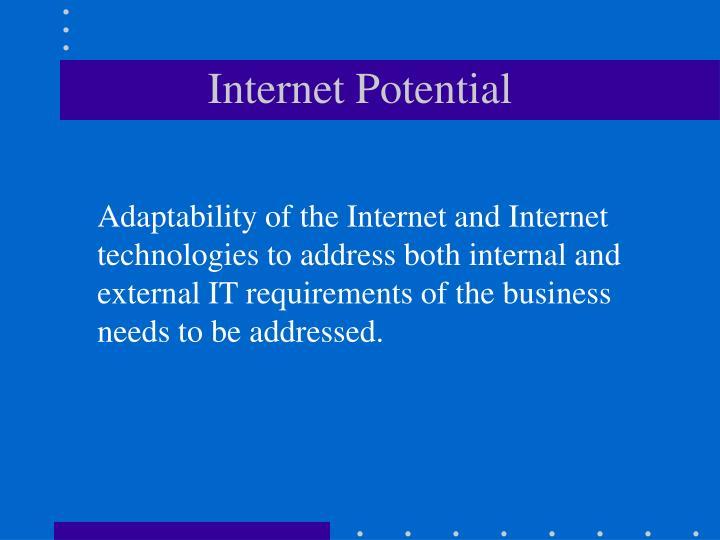 Internet Potential