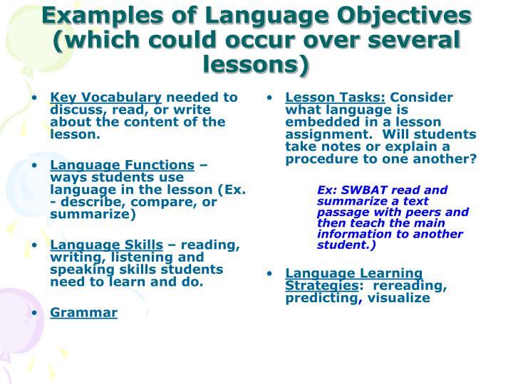 Key Vocabulary