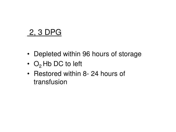 2, 3 DPG