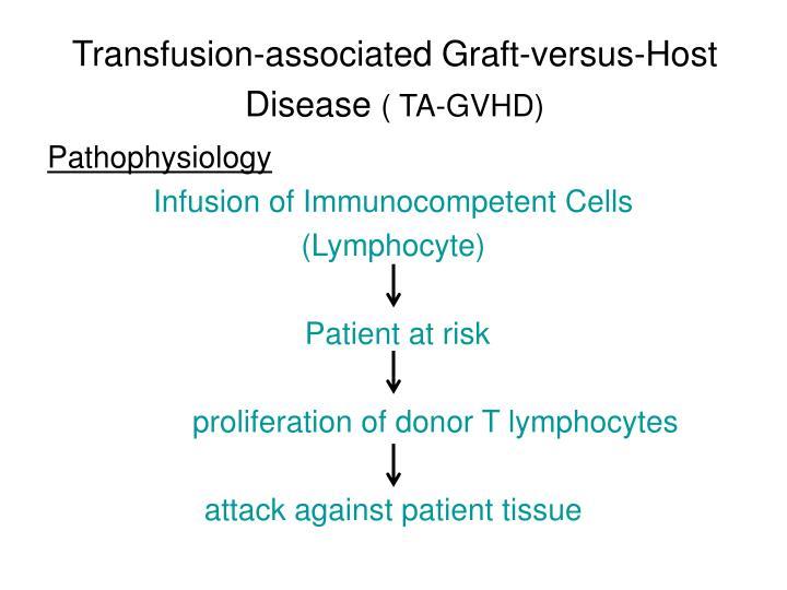 Transfusion-associated Graft-versus-Host