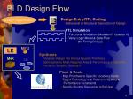 pld design flow