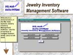 jewelry inventory management software