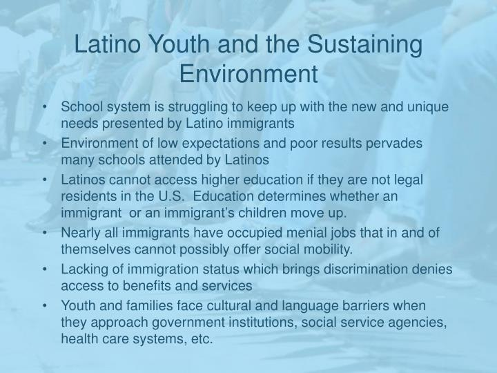 Latino Youth and the Sustaining Environment