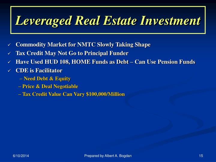 Leveraged Real Estate Investment