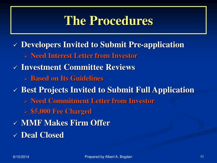 The Procedures