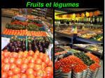 fruits et l gumes