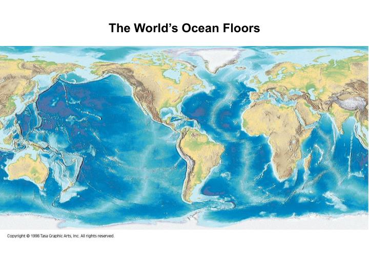 The World's Ocean Floors