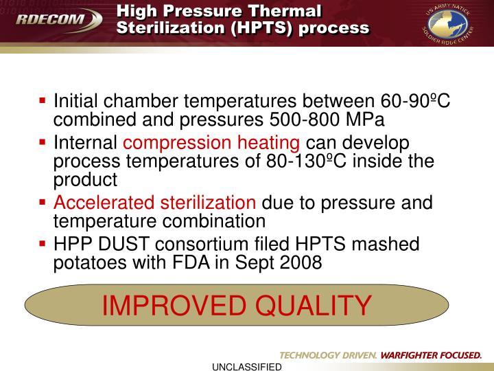 High Pressure Thermal Sterilization (HPTS) process