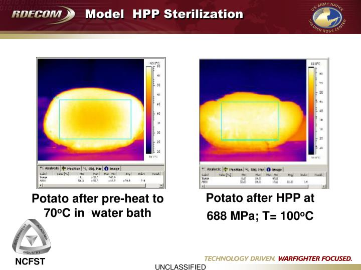 Model  HPP Sterilization