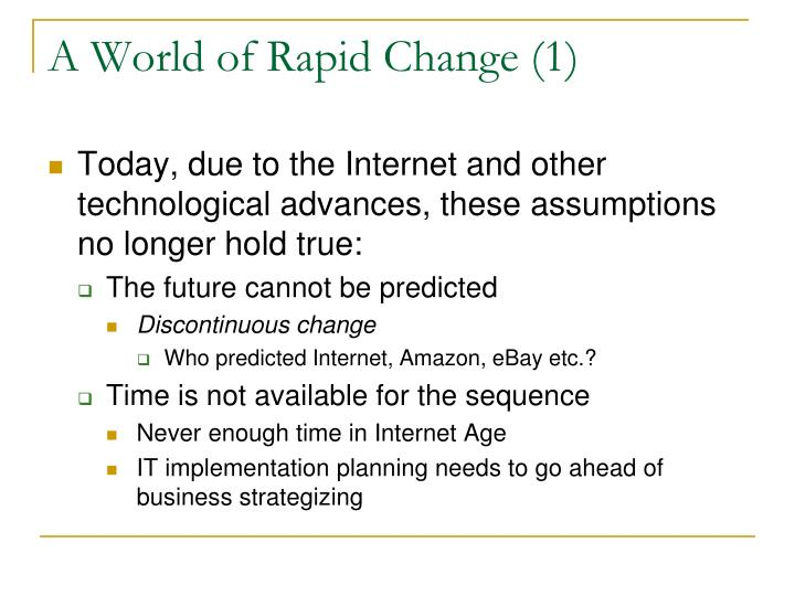 A World of Rapid Change (1)