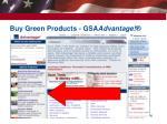 buy green products gsa advantage