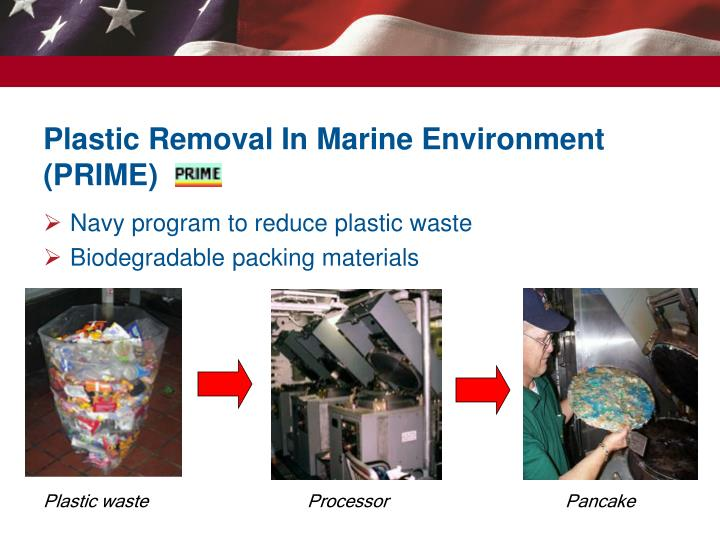 Plastic Removal In Marine Environment (PRIME)