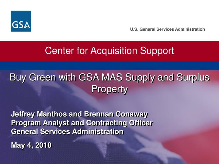 Center for Acquisition Support
