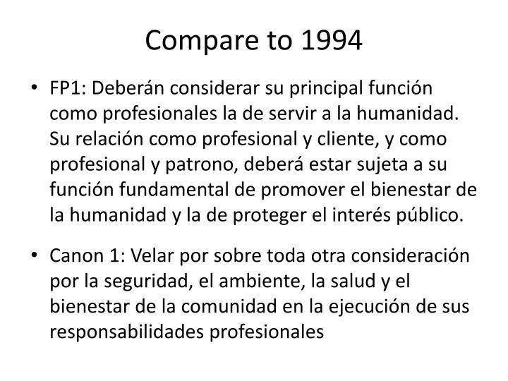 Compare to 1994