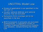 uncitral model law