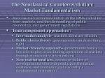 the neoclassical counterrevolution market fundamentalism