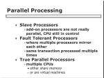 parallel processing
