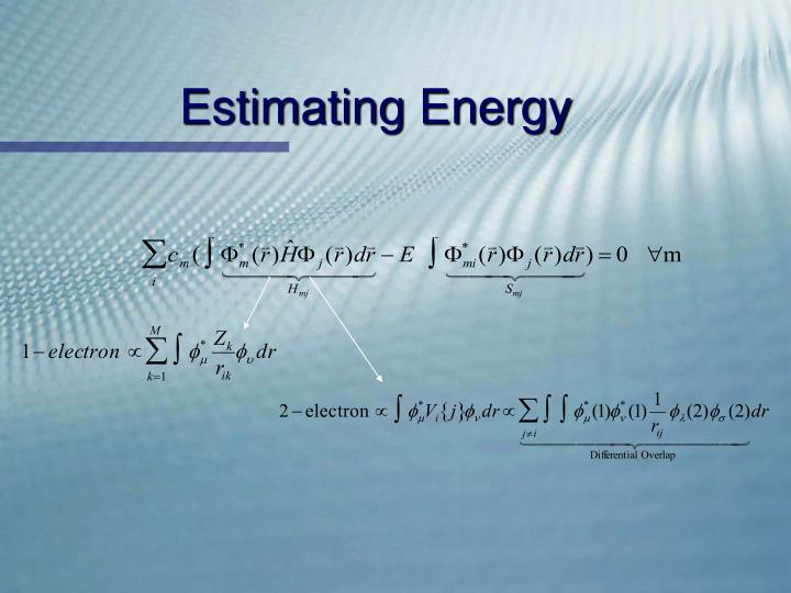 Estimating Energy
