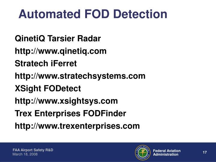QinetiQ Tarsier Radar