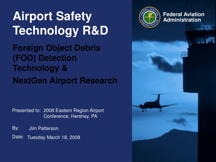 foreign object debris fod detection technology nextgen airport research