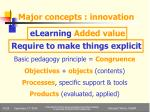 major concepts innovation2